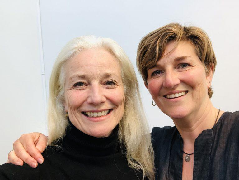 Yvonne Toeset en Stephanie de Witte
